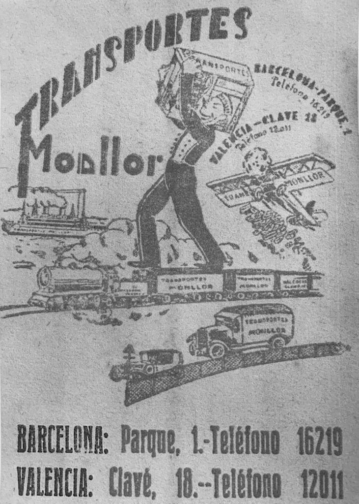 Grupo Monllor, Agencia de Transportes más antigua de la Comunidad Valenciana